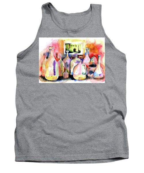 Abstract Containers Tank Top by Terry Banderas