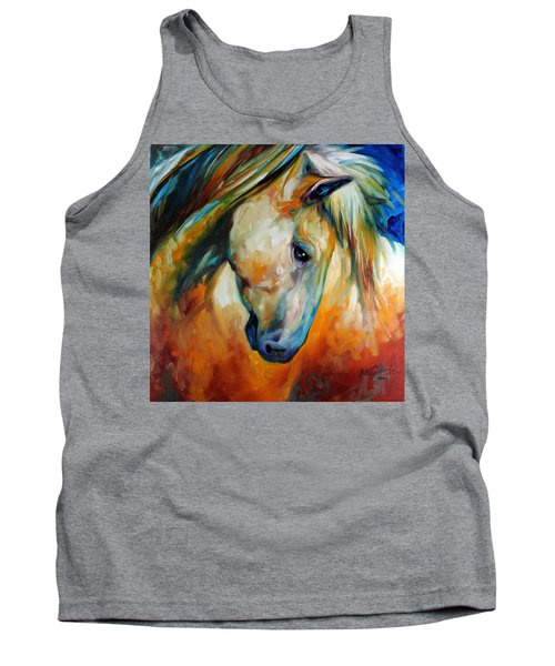 Abstract Equine Eccense Tank Top