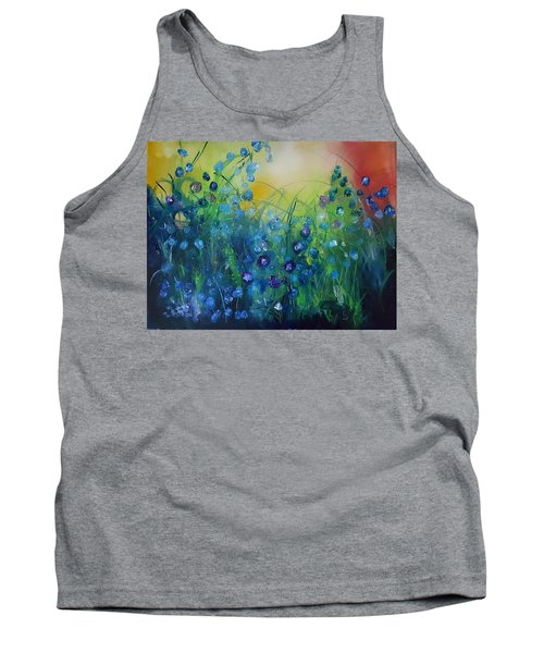 Abstract Flax           31 Tank Top