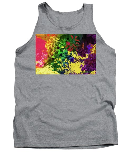 Abstract Flowers Of Light Series #2 Tank Top