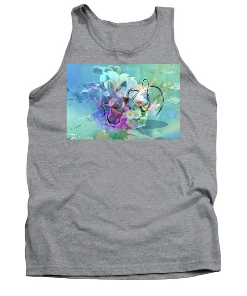Abstract Flowers Of Light Series #9 Tank Top