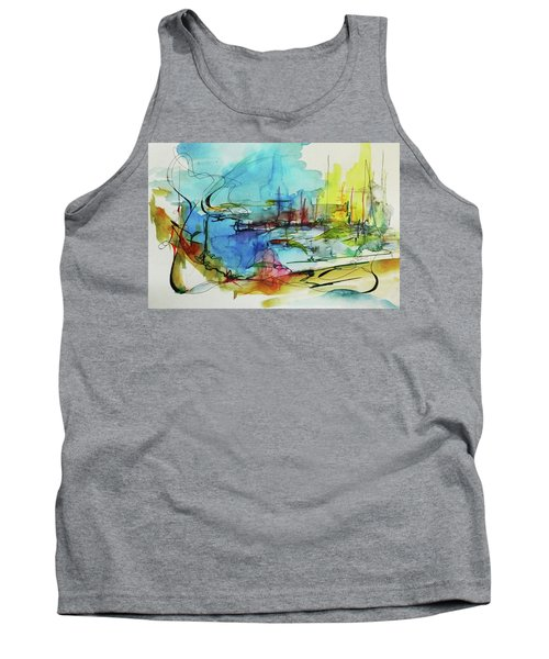 Abstract Landscape #1 Tank Top