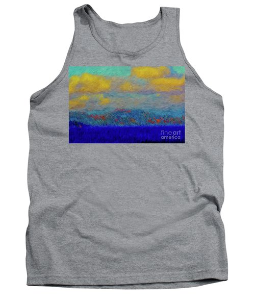 Abstract Landscape Expressions Tank Top