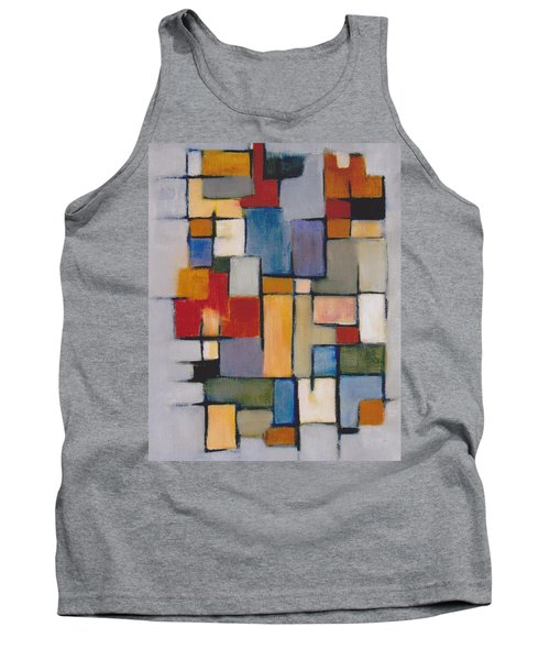 Abstract Line Series  Tank Top by Patricia Cleasby
