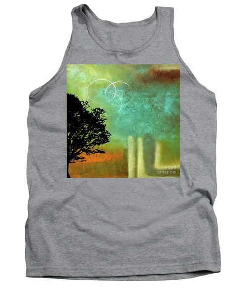 Abstract Modern Art Eternity Tank Top
