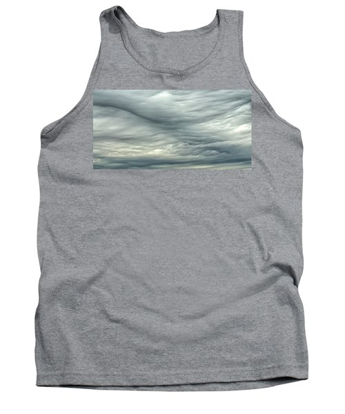 Abstract Of The Clouds 2 Tank Top by Gary Slawsky