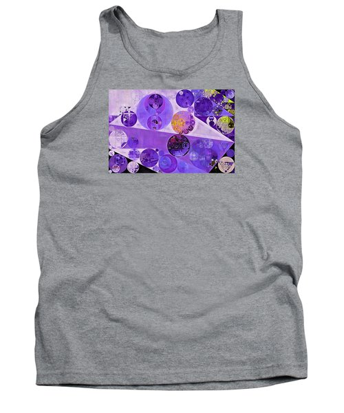 Abstract Painting - Blackcurrant Tank Top