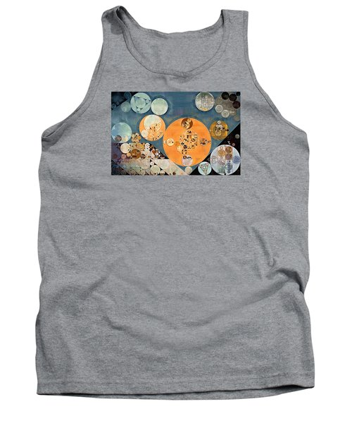 Abstract Painting - Shuttle Grey Tank Top