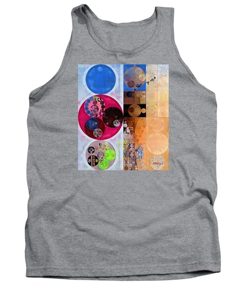 Abstract Painting - Wafer Tank Top