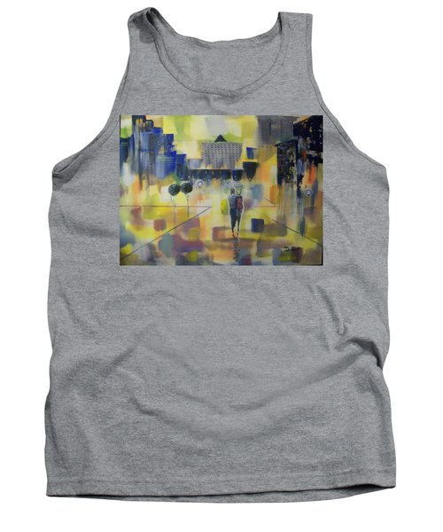 Abstract Stroll Tank Top by Raymond Doward