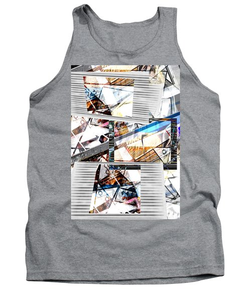 Abstract Triptych Tank Top