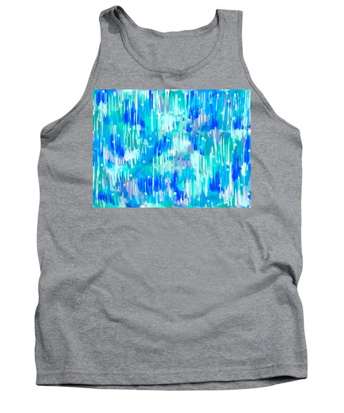 Abstract Winter Tank Top