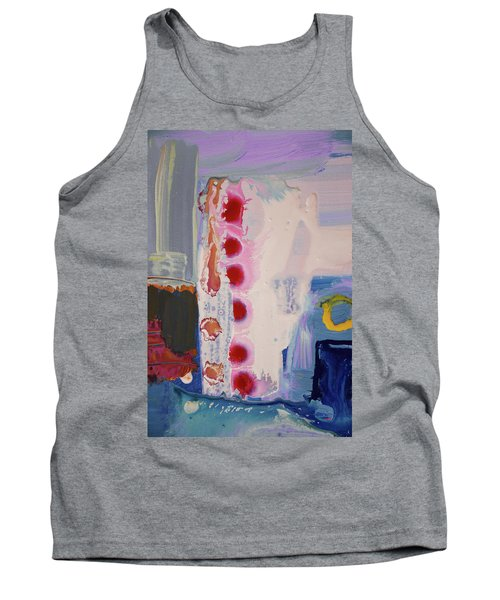 abstraction, fire in the Chakras Tank Top by Amara Dacer