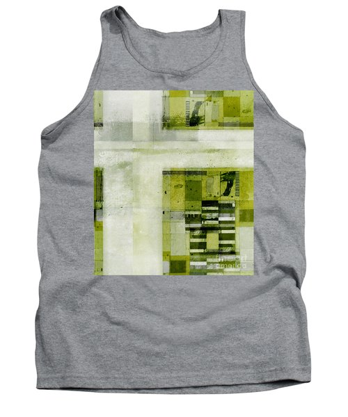 Tank Top featuring the digital art Abstractitude - C4bv2 by Variance Collections