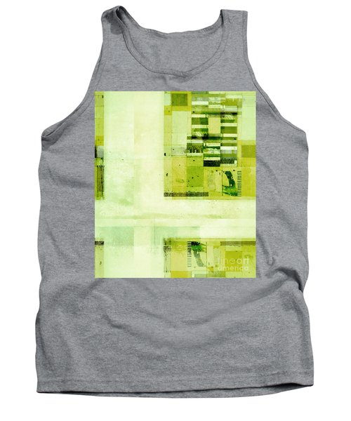 Tank Top featuring the digital art Abstractitude - C4v by Variance Collections