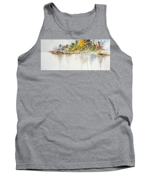Across The Pond Tank Top by P Anthony Visco