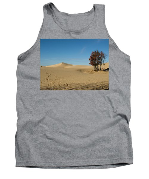 Tank Top featuring the photograph Across The Sand 2 by Tara Lynn
