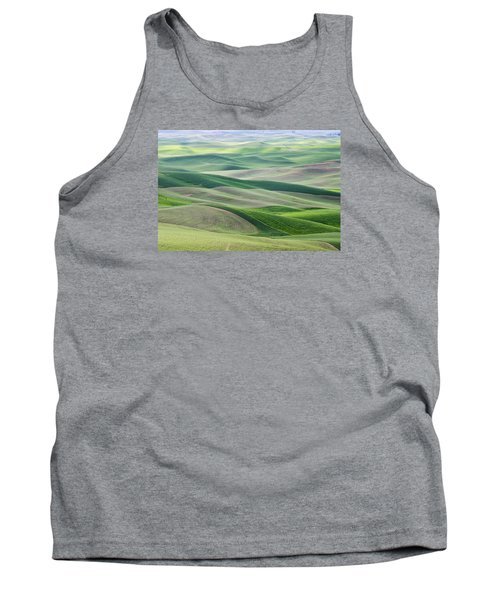Tank Top featuring the photograph Across The Valley by Wanda Krack