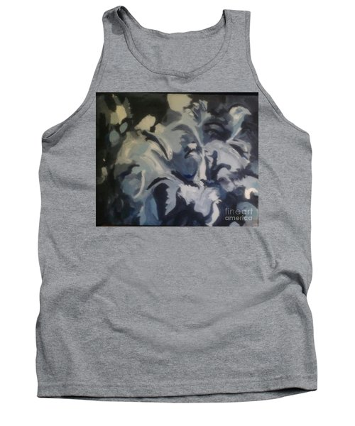 Acrylic Blues Tank Top