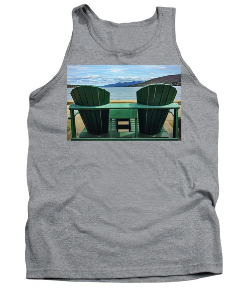 Adirondack Chair For Two Tank Top