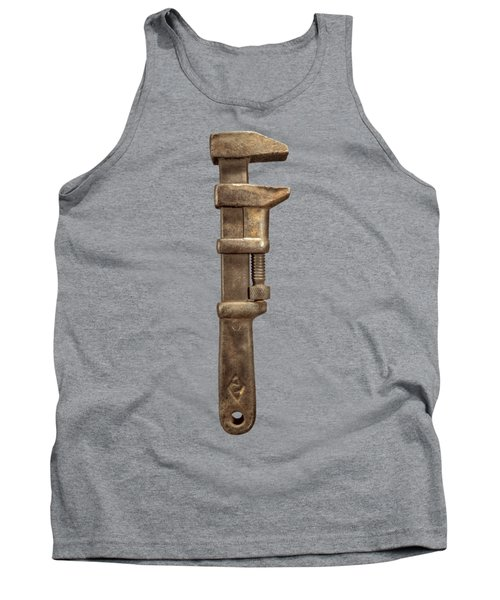 Adjustable Iron Wrench Right Face Tank Top