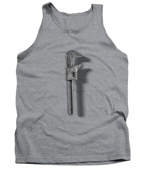 Adjustable Wrench Backside In Bw Tank Top