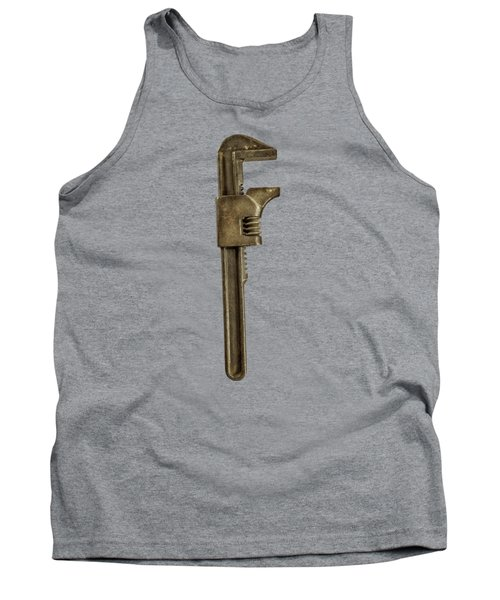 Adjustable Wrench Backside Tank Top by Yo Pedro