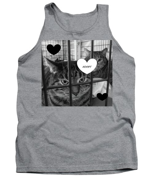 Adopt Tank Top by Mary Ellen Frazee