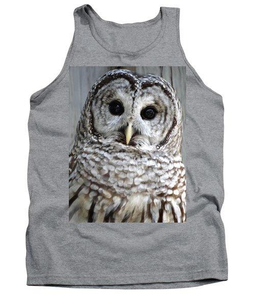 Adorable Barred Owl  Tank Top