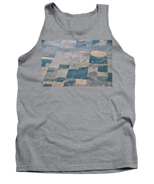 Tank Top featuring the photograph Aerial 1 by Steven Richman