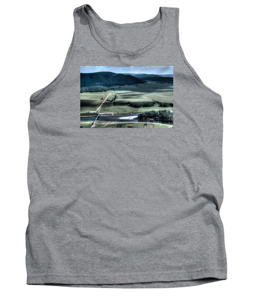 Aerial View Of Rolling Russian Hills Tank Top by John Williams