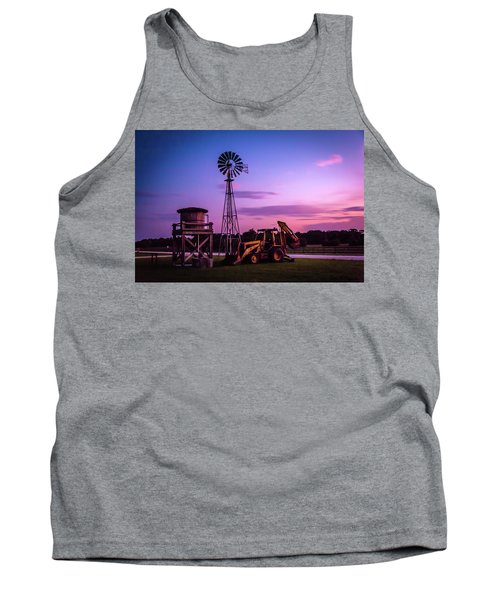 Aeromotor Windmill Tank Top