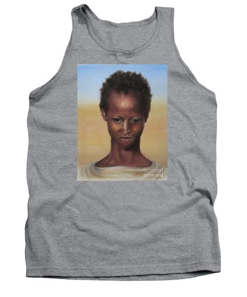 Tank Top featuring the painting Africa by Annemeet Hasidi- van der Leij