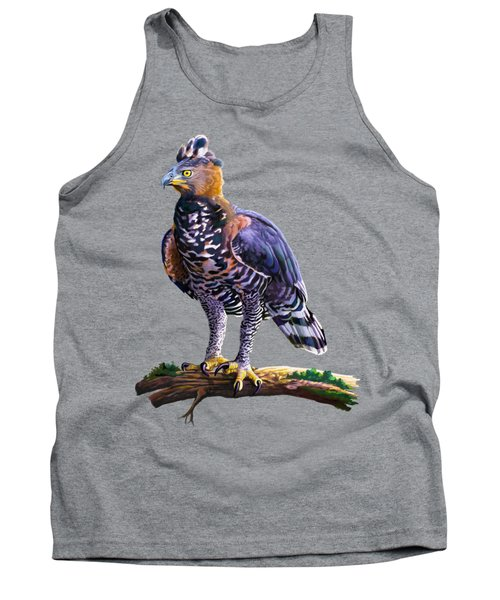 African Crowned Eagle  Tank Top by Anthony Mwangi