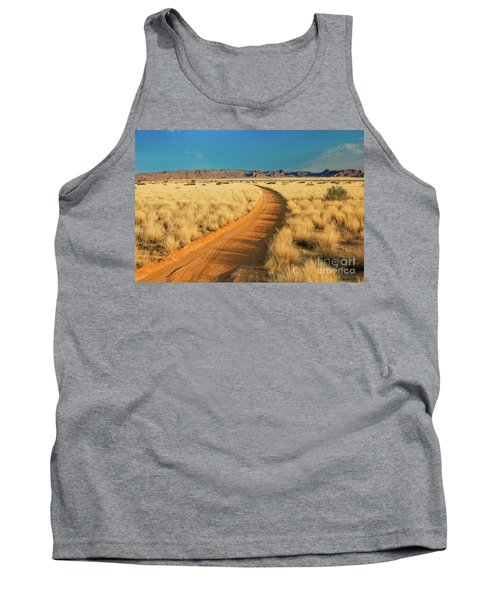 African Sand Road Tank Top