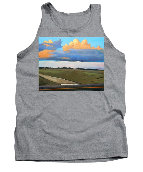 Tank Top featuring the painting After Shower by Gary Coleman