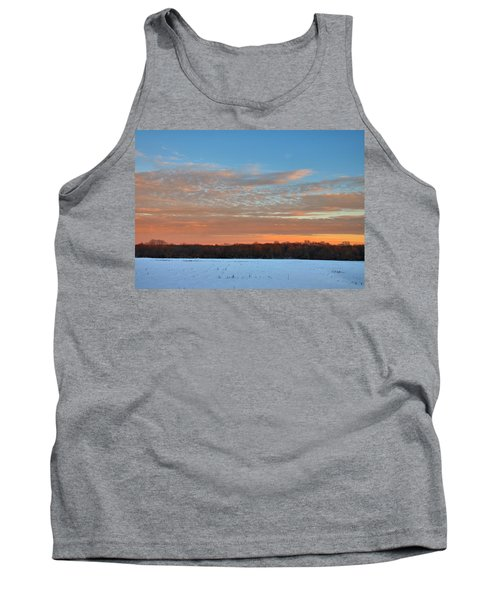 Tank Top featuring the photograph After Storm Jonas by Steven Richman