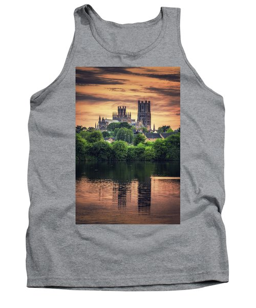 Tank Top featuring the photograph After Sunset by James Billings