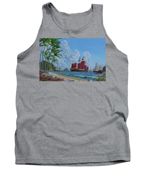 Tank Top featuring the painting After The Storm by Anthony Lyon