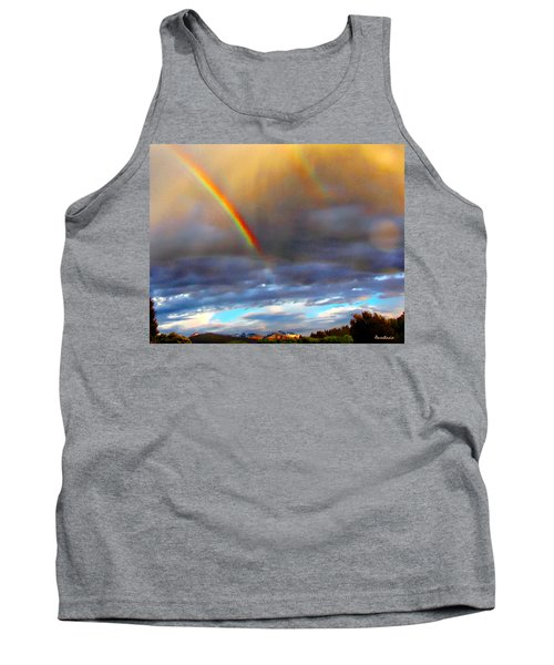 After The Storm El Valle New Mexico Tank Top