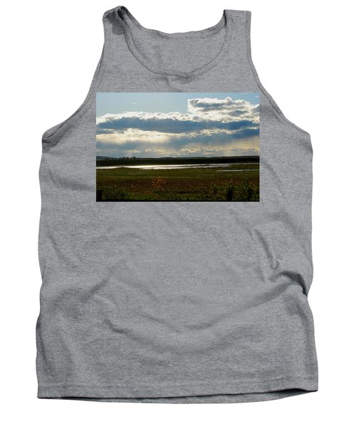 After The Storm Tank Top by Nancy Landry