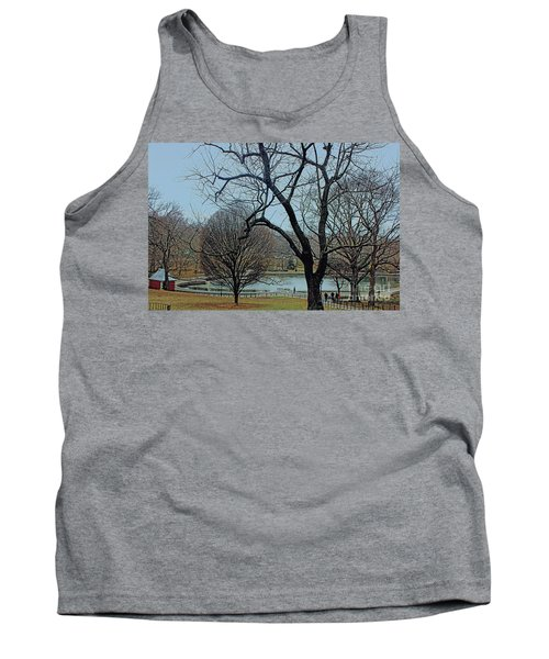 Afternoon In The Park Tank Top by Sandy Moulder