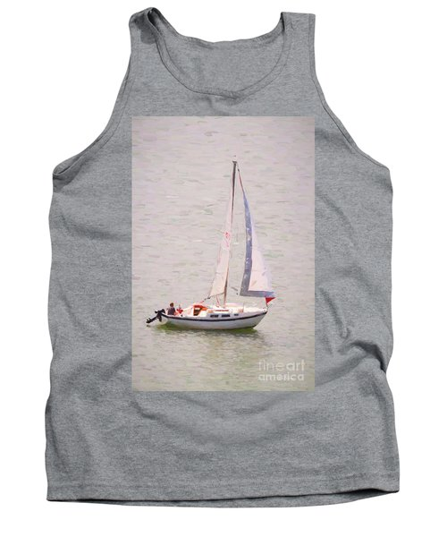Tank Top featuring the photograph Afternoon Sail by James BO Insogna