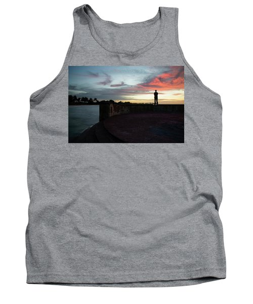 Against The Sky Tank Top