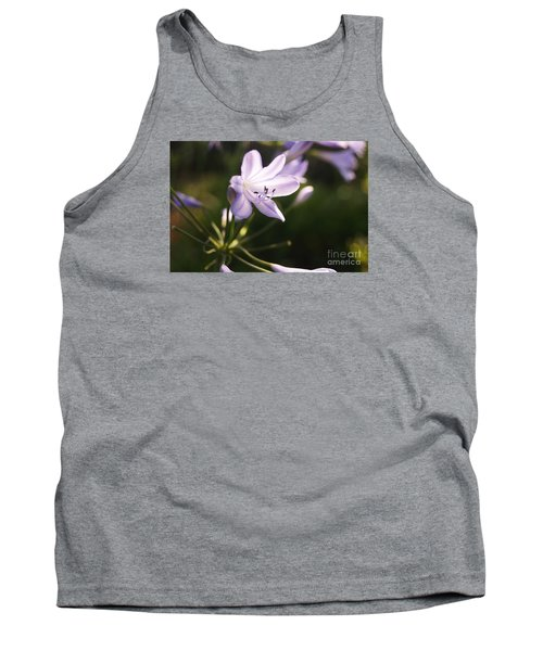 Agapanthus Tank Top by Cassandra Buckley