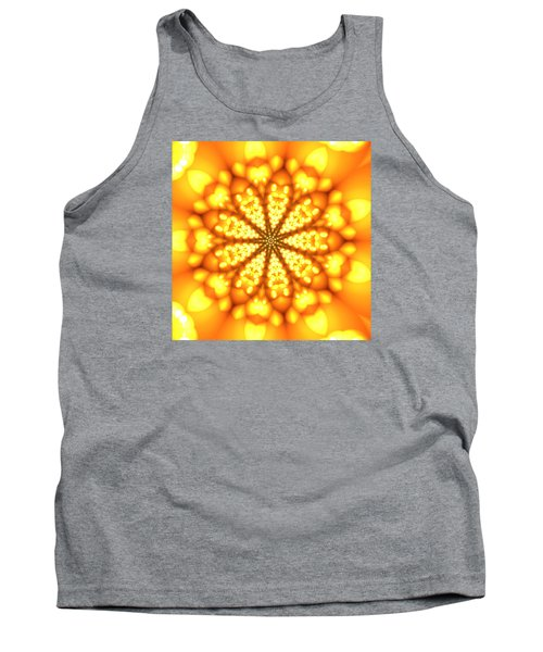 Tank Top featuring the digital art Ahau 9 by Robert Thalmeier