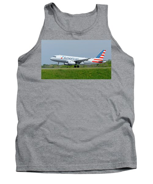 Airbus A319 Tank Top by Guy Whiteley