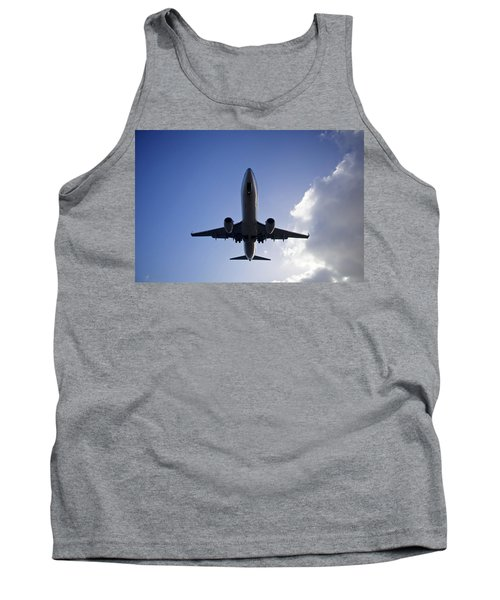 Airplane Landing Tank Top