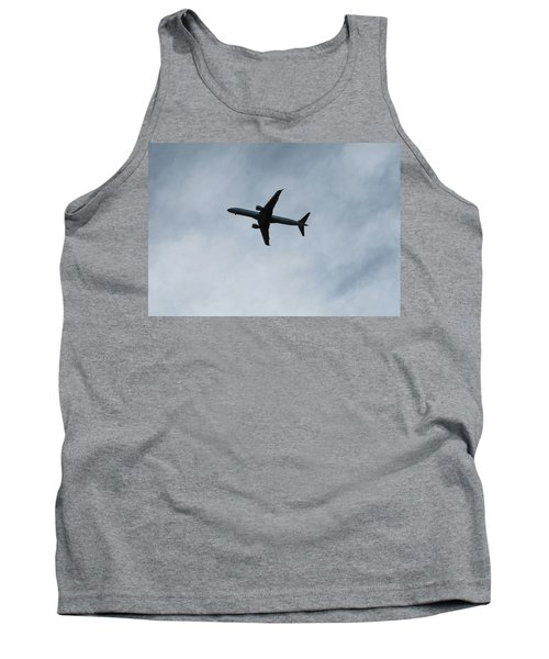 Airplane Silhouette Tank Top