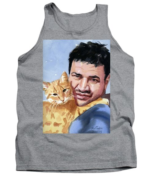 Alaa And Feras Tank Top